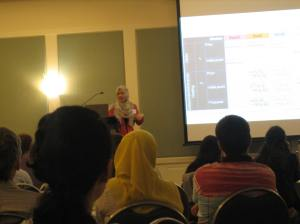 Invited Presentation:  Shakira Suwan