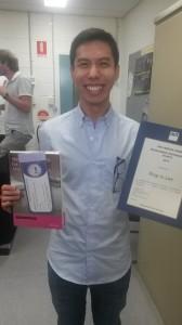 Congratulations Xing!